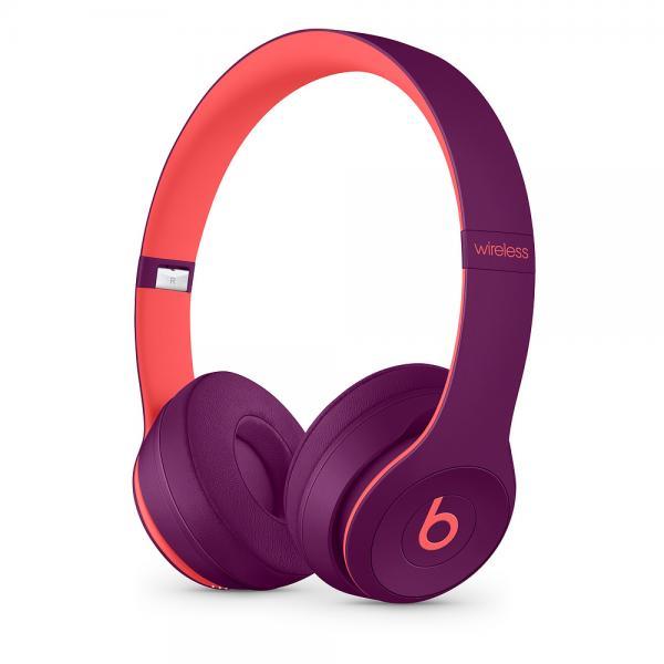 Beats Solo3Wireless On-Ear Headphones - Beats Pop Collection - Pop Magenta