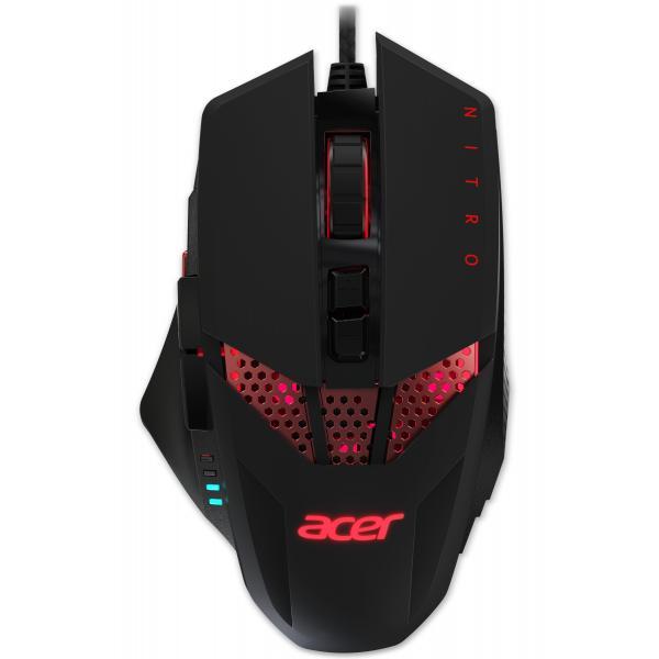 Acer Nitro mouse USB tipo A Ottico 4000 DPI Mano destra