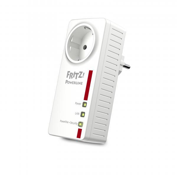 Adattatore PLC Fritz! 1220E LAN 1200 Mbps Bianco
