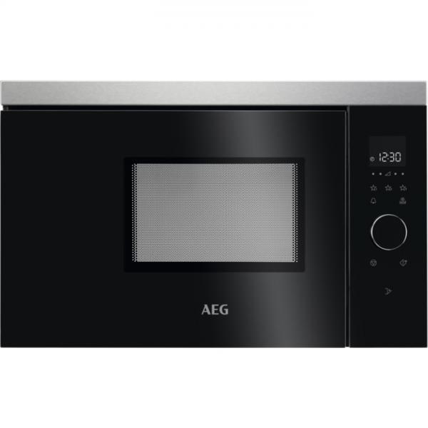AEG MBB1756SEM Incorporato Solo microonde 17 L 800 W Nero, Acciaio inossidabile