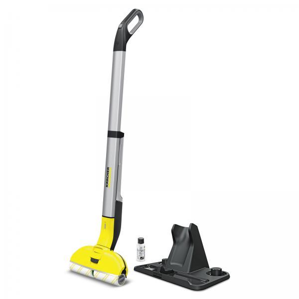 Kärcher FC3 Cordless - Lavapavimenti senza Filo, Adatto a tutti Pavimenti, Maneggevole e Leggero, con Detergente Incluso