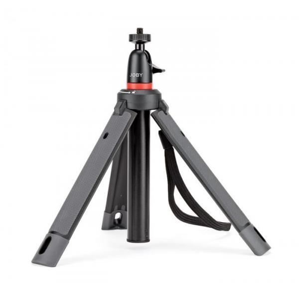 Joby TelePod 325 treppiede Smartphone/fotocamera di azione 3 gamba/gambe Nero, Rosso
