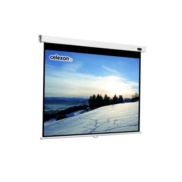 Celexon , Rollo Professional, Leinwand, 4:3 manuell, 220x165cm schermo per proiettore