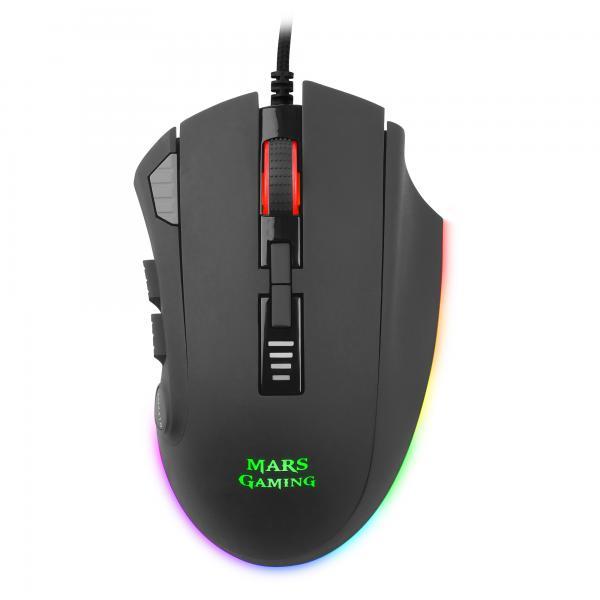 Mars Gaming MM418 Mouse Ottico RGB a 32.000 DPI