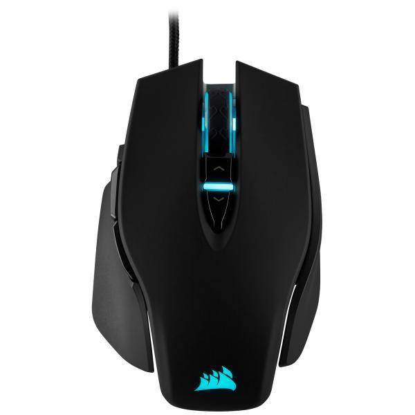 Corsair Gaming M65 RGB Elite, Black, Backlight RGB, 18000DPI