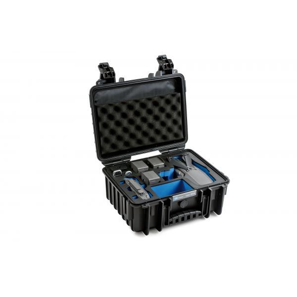 B&W 3000/B/MAVIC2V2 custodia per drone con telecamera Valigetta ventiquattrore Nero Polipropilene (PP)