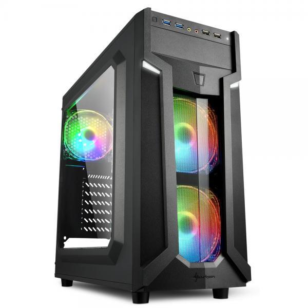 2X U2, 2X U3, 3X 120LED FAN, RGB CONTROLLER