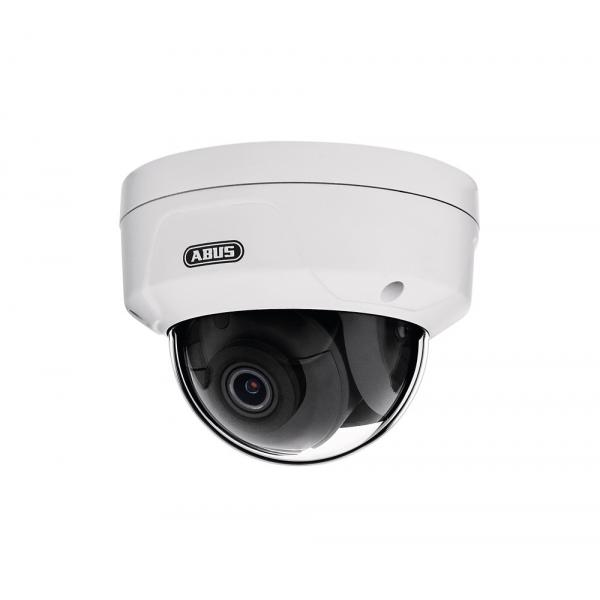 ABUS TVIP44510 telecamera di sorveglianza Telecamera di sicurezza IP Interno e esterno Cupola Bianco 2560 x 1440 Pixel
