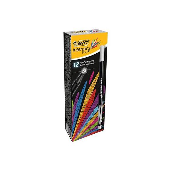 Confezione da 12 Penna Pfibra 0.4 mm Grigio
