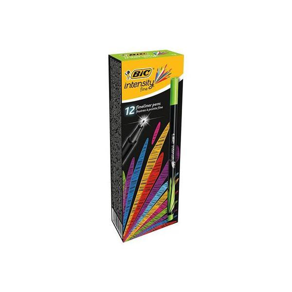 Confezione da 12 Penna Pfibra 0.4 mm Verde C