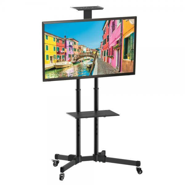Trolley da Pavimento con Mensola per TV LCD/LED/Plasma 37-70''