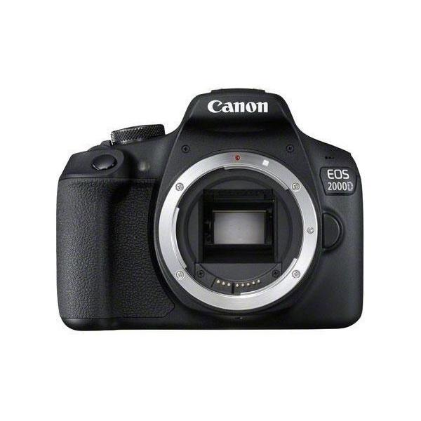 Canon EOS 2000D + EF-S 18-55mm f/3.5-5.6 III Kit fotocamere SLR 24,1 MP CMOS 6000 x 4000 Pixel Nero