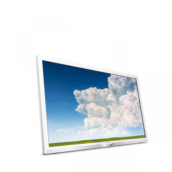 PHILIPS LCD 24PHS4354 WHITE LED HD T2/S2