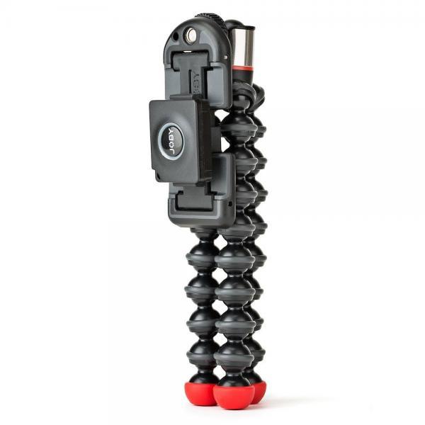 Joby GripTight ONE GP treppiede Smartphone/Tablet 3 gamba/gambe Nero, Rosso