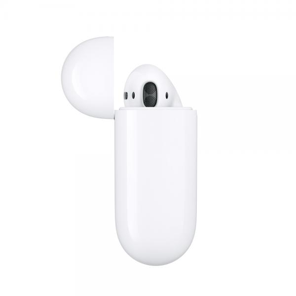 Apple AirPods (2nd generation) MV7N2ZM/A headphones/headset Cuffia Auricolare Bianco