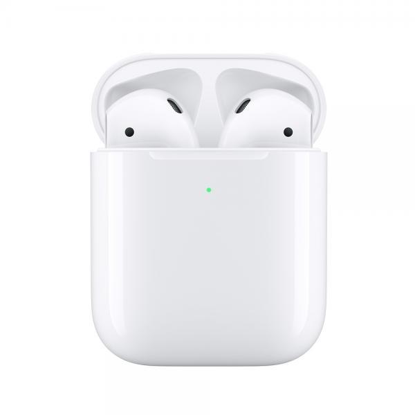Apple AirPods - Auricolari Bluetooth (custodia di ricarica wireless)