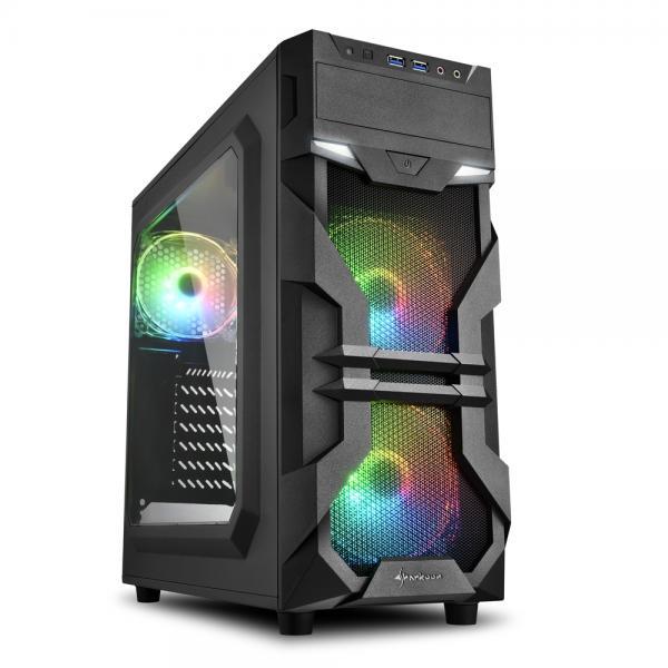 2X U3, WINDOW, 3X 120 ARGB LED FAN, RGB CONTROLLER