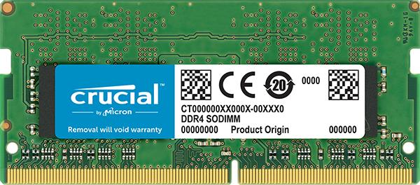 16GB Crucial DDR4-3200 CL22 SO-DIMM RAM Notebook Speicher