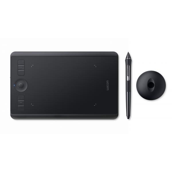 Wacom Intuos Pro (S) tavoletta grafica Nero 5080 lpi (linee per pollice) 160 x 100 mm USB/Bluetooth