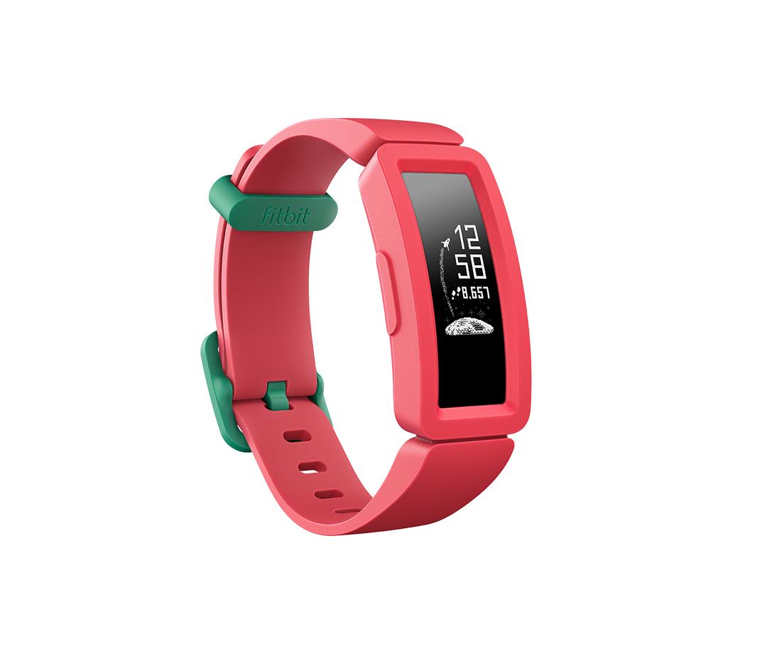 Orologi Sportivi Fitbit Ace 2 OLED Bluetooth 4.0 Colore:Rosso