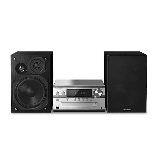 Mini impianto Stereo Panasonic Corp. SC-PMX90EG Bluetooth 120W Colore:Argentato
