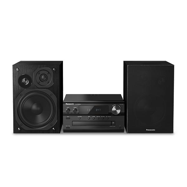 Mini impianto Stereo Panasonic Corp. SC-PMX90EG Bluetooth 120W Colore:Nero