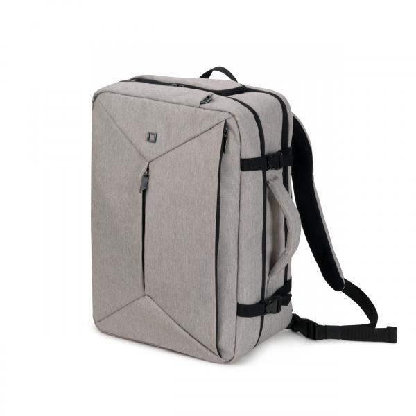 Dicota Dual Plus EDGE borsa per notebook Zaino Grigio
