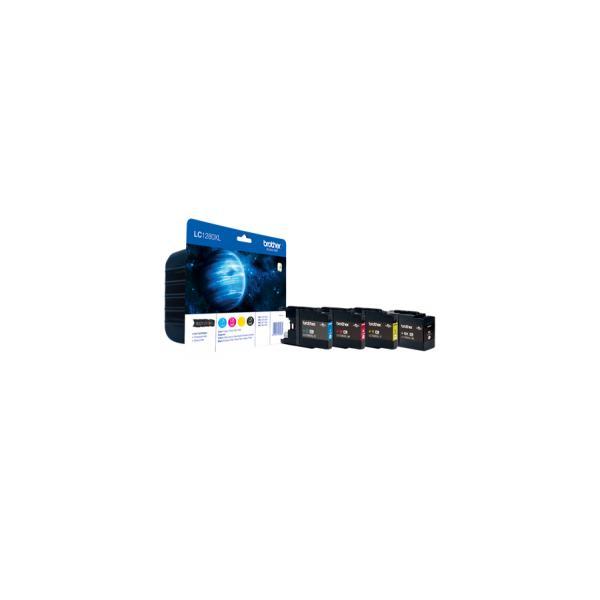 Brother Confezione cartuccia d'inchiostro ad alta capacità: Ciano / Magenta / Giallo / Nero 5014047562662 LC1280XLVALBP 10_5833877