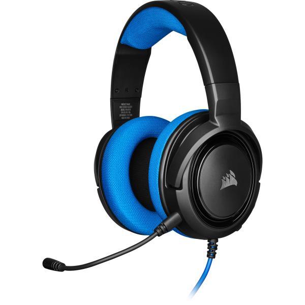 Corsair Gaming HS35 Stereo Headset Blue
