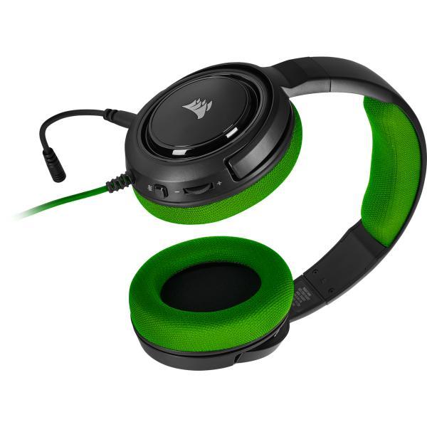 Corsair Gaming HS35 Stereo Headset Green