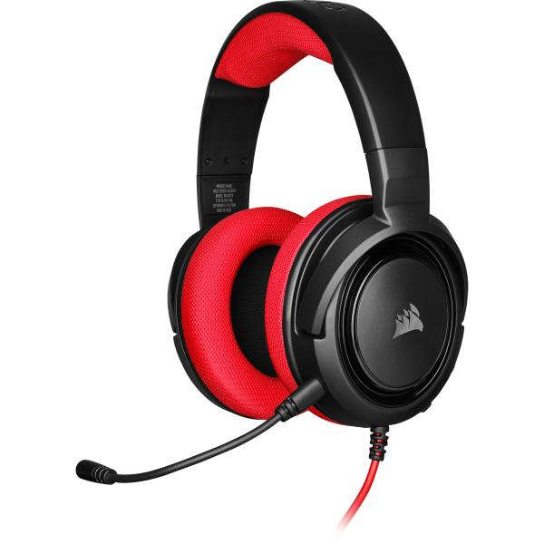 Corsair Gaming HS35 Stereo Headset Red