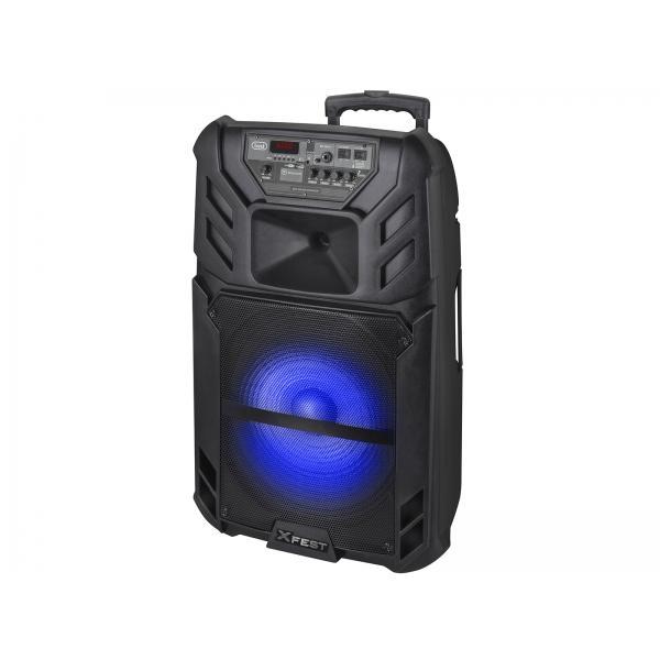 Altoparlante Amplificato 120W XF 1500 KB con Bluetooth Nero