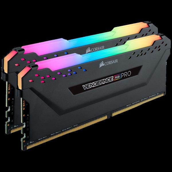 16GB (2x8GB) Corsair Vengeance RGB PRO DDR4-3600 RAM CL18 (18-22-22-42) Kit