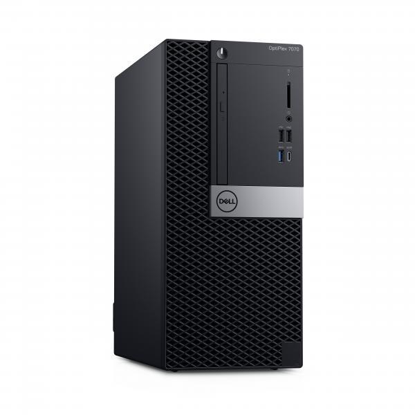 DELL OptiPlex 7070 Intel® Core™ i7 di nona generazione i7-9700 16 GB DDR4-SDRAM 512 GB SSD Mini Tower Nero PC Windows 10 Pro