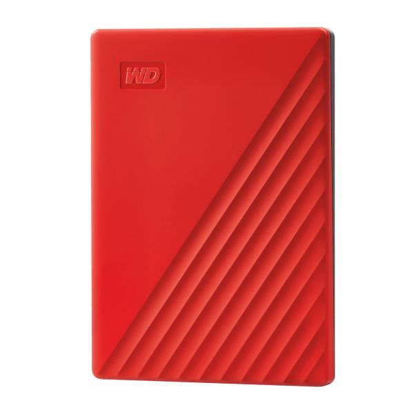 2 TB MyPassport USB3.0 red