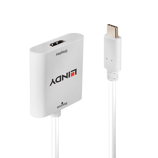 43276 cavo di interfaccia e adattatore USB 3.1 Type C HDMI Bianco