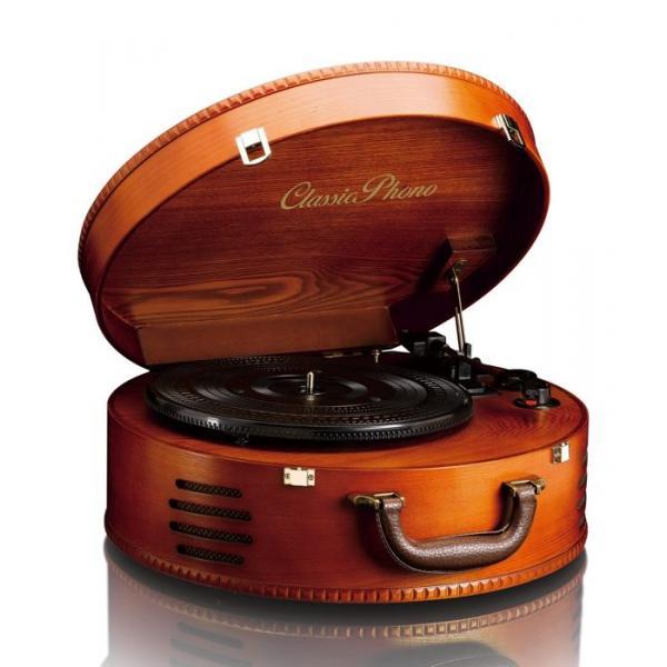 Lenco TT-34 piatto audio Giradischi con trasmissione a cinghia Marrone