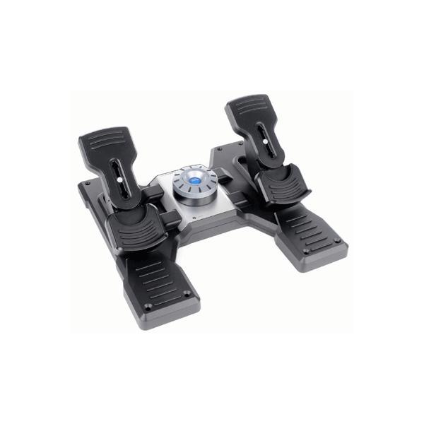 Logitech G PZ35 Pro Flight Rudder Pedals - Pedale zur Rudersteuerung