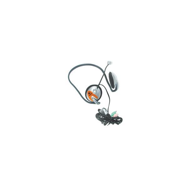 Atlantis Land P003-HEADSET Stereofonico Argento cuffia e auricolare 8026974013060 P003-HEADSET 10_R290340