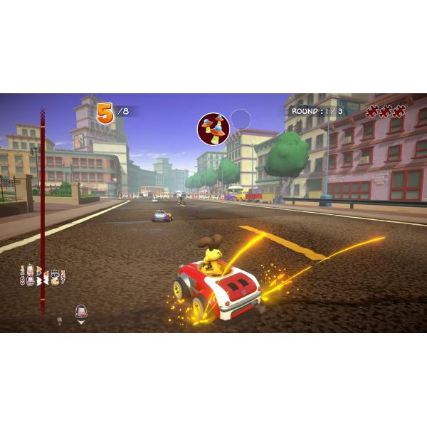 4Side PS4 GARFIELD KART FURIOUS RACING