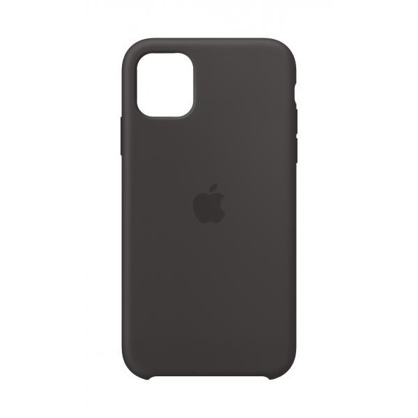 Apple Custodia in silicone per iPhone 11 - Nero