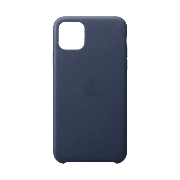 Apple Custodia in pelle per iPhone 11 Pro Max - Blu notte