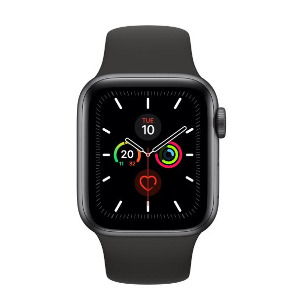 APPLEWATCH 5 GPS 40MM SPACE GREY BLACK SPORT BAND