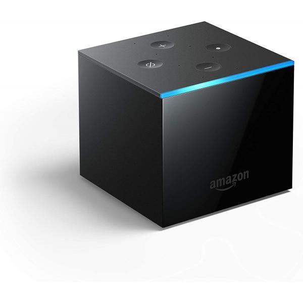 Amazon Fire TV Cube (2019) 4K Ultra HD mit Alexa Sprachfernbedienung