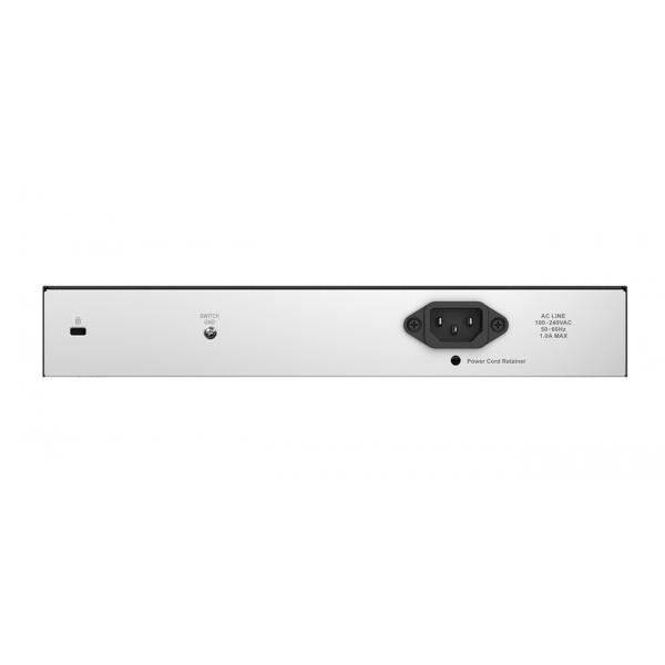 D-Link EasySmart L2 Gigabit Ethernet (10/100/1000) Nero