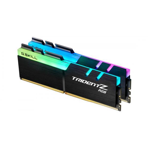 16GB (2x8GB) G.Skill Trident Z RGB DDR4-3600 CL18 (18-22-22-42) DIMM RAM Kit