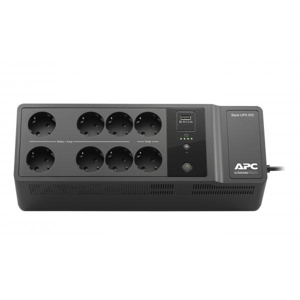 APC Back-UPS 650VA 230V 1 USB charging port - (Offline-) USV Standby (Offline) 400 W 8 presa(e) AC