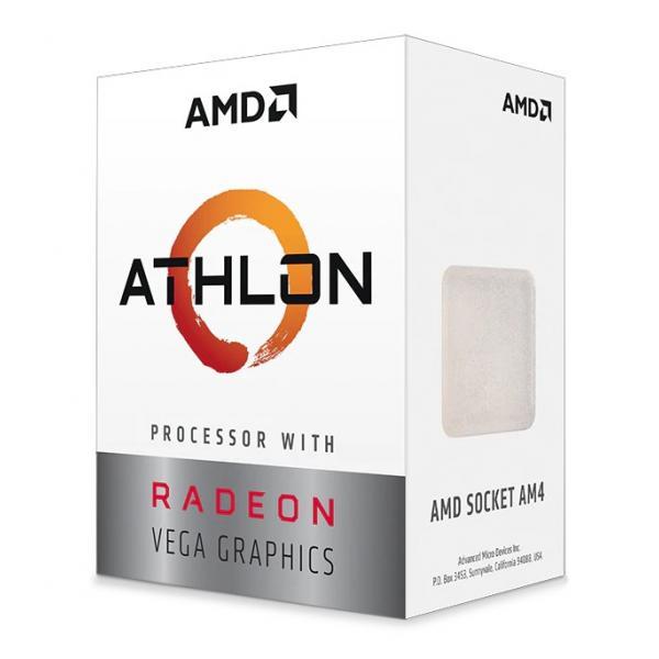 AMD Athlon 3 3000G (2x 3,5 GHz) 4MB Sockel AM4 CPU BOX