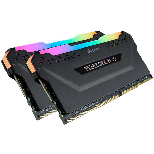 32GB (2x16GB) Corsair Vengeance RGB PRO DDR4-3600 RAM CL18 (18-22-22-42) Kit