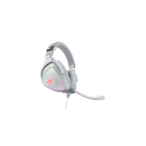 ASUS ROG Delta White Edition Cuffia Padiglione auricolare Bianco